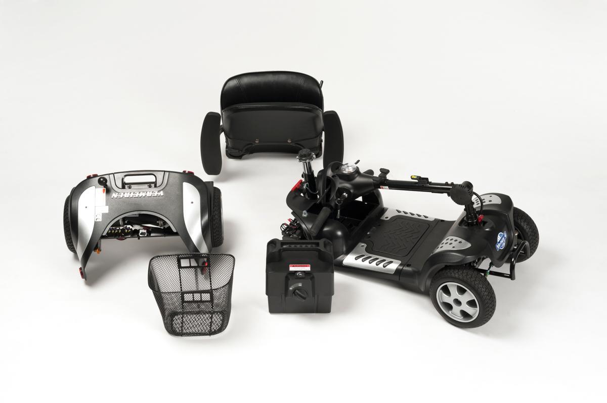 scooter vermeiren venus 4 roues sport univers medical. Black Bedroom Furniture Sets. Home Design Ideas
