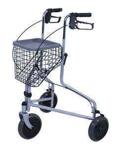 Déambulateur Rollator à 3 roues MADRID Dupont Medical
